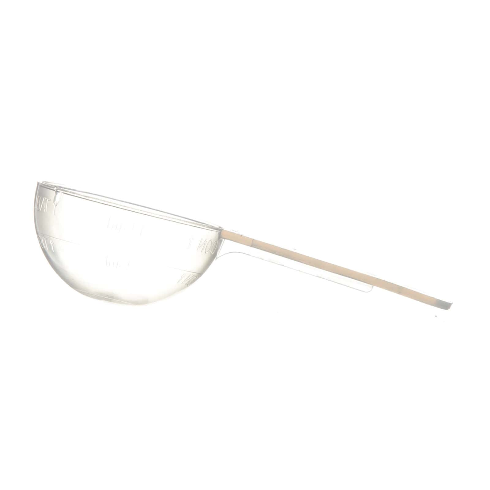 14 79 cc Natural P/P Plastic Long Handled Scoop with Graduation Marks